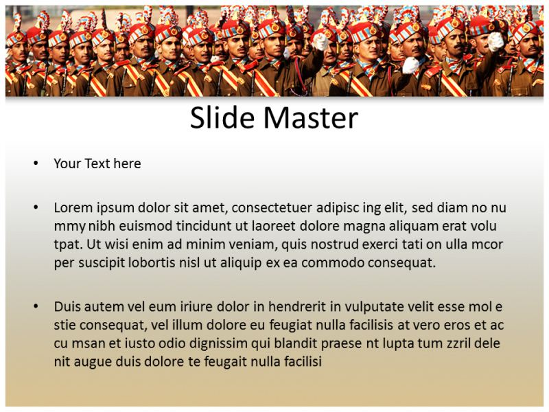 Indian army powerpointppt templates powerpoint template for my toneelgroepblik Gallery