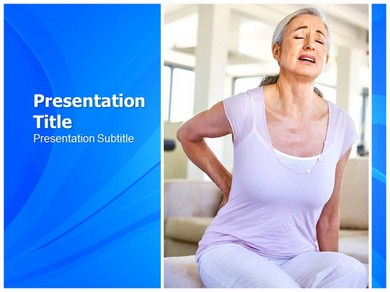 Back pain Exercises Powerpoint Templates