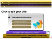 Alphabet Letters powerPoint themes