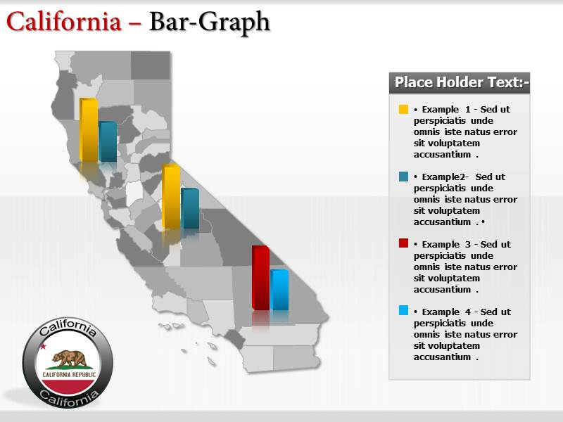 California Map  PowerPoint Templates