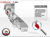 California Map  ppt themes