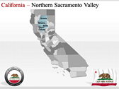 California Map  powerpoint templates designs