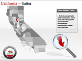 California Map  download PowerPoint Slides