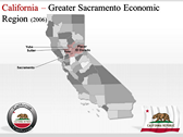 California Map  powerpoint slide templates