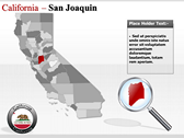 California Map  Templates power point