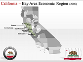 California Map  power Point templates