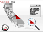 California Map  design for power point