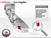 California Map  ppt backgrounds