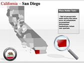 California Map  download powerpoint themes