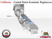 California Map  powerpoint slide design