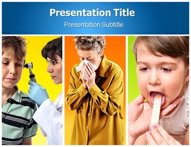 ENT Medical Powerpoint Templates