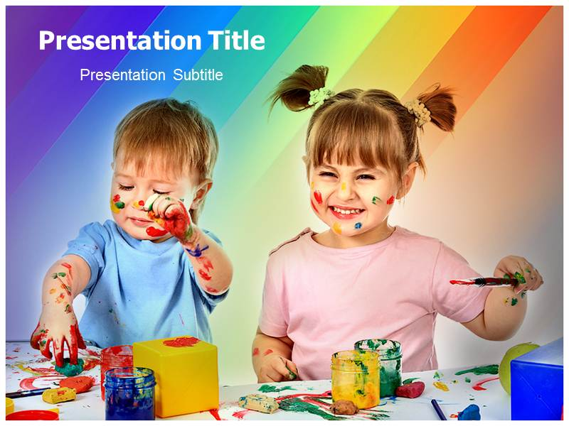 Early Childhood Care Childhood Powerpoint Ppt Templates