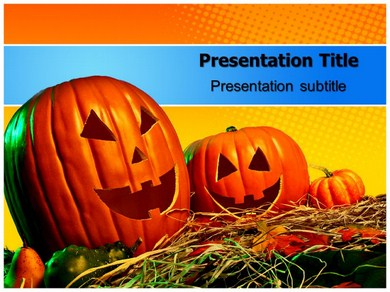 Halloween Costumes Powerpoint Templates