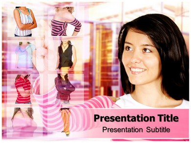 Online shopping mall Powerpoint Templates