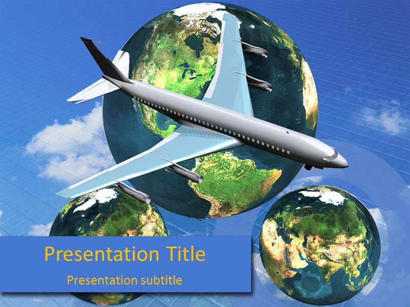 Southwest Airlines 1 Powerpoint Templates