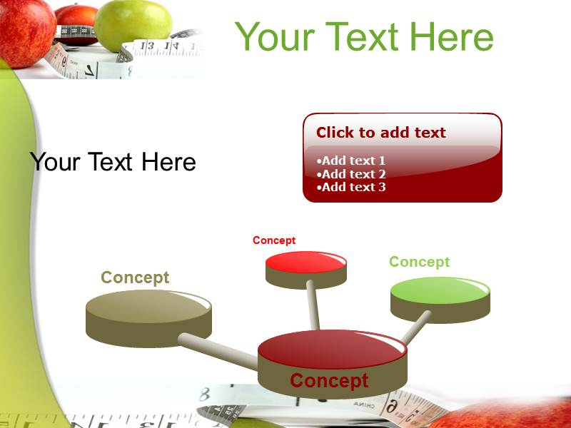 Healthy Diet Powerpoint Templates