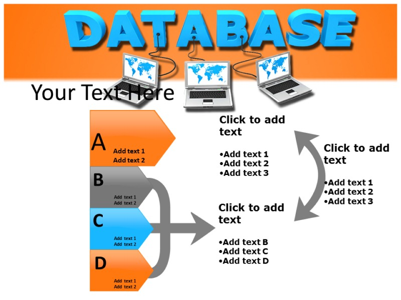 Database Powerpoint Templates
