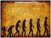 Evolution Facts powerPoint template