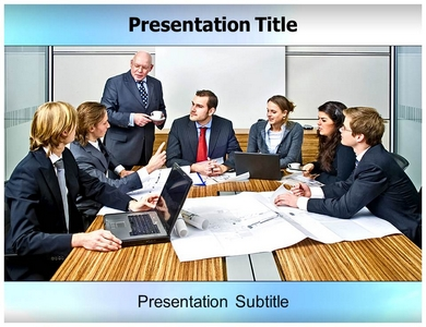 Management Controlling Powerpoint Templates