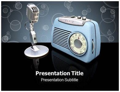 Radio Powerpoint Templates, Presentaton on Radio, PPT