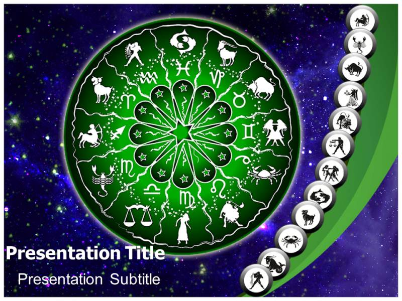 Zodiac powerpoint templates powerpoint presentation on zodiac my toneelgroepblik Gallery