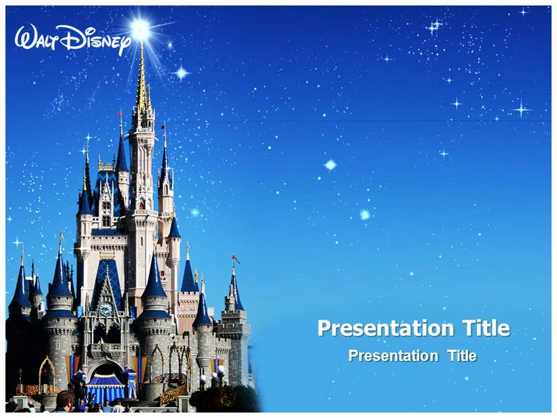 disney templatesDisney World PowerPoint Template PowerPoint Background PowerPoint i1a4PWtm
