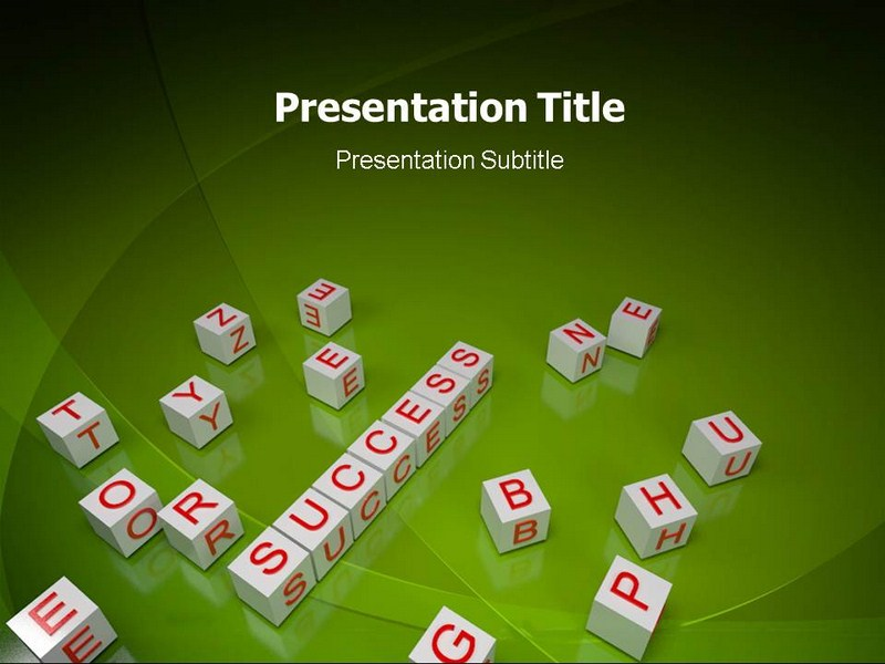 Success Secrets Powerpoint Templates