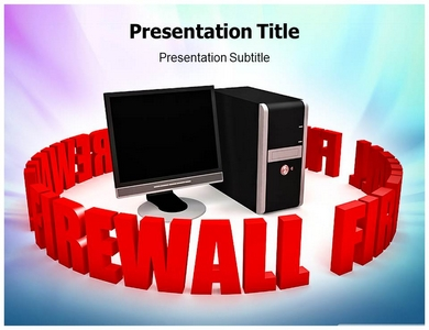 Firewall Protection Powerpoint Templates