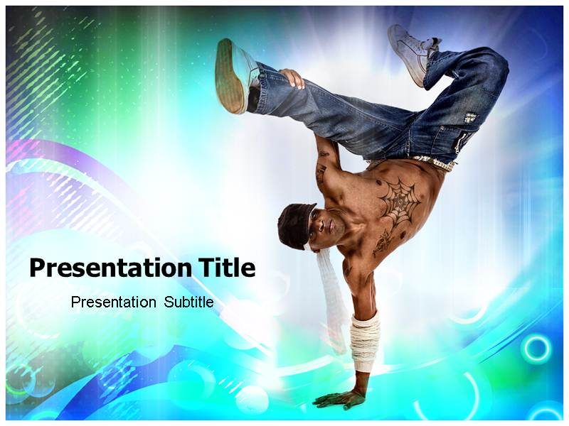 Western Dance Powerpoint Templates