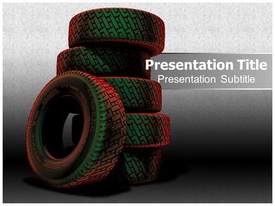 Tyres 1 Powerpoint Templates