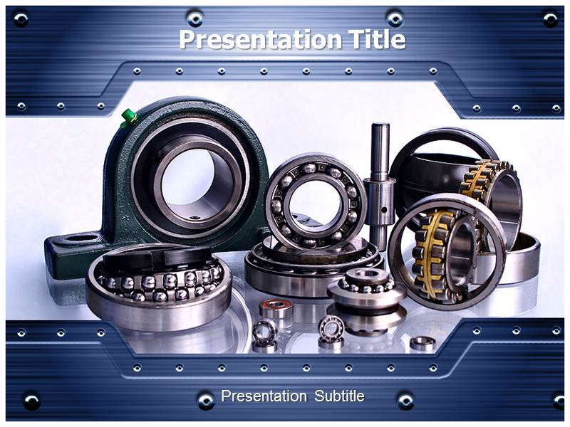Bearing powerpoint(ppt) templates | bearing powerpoint background.