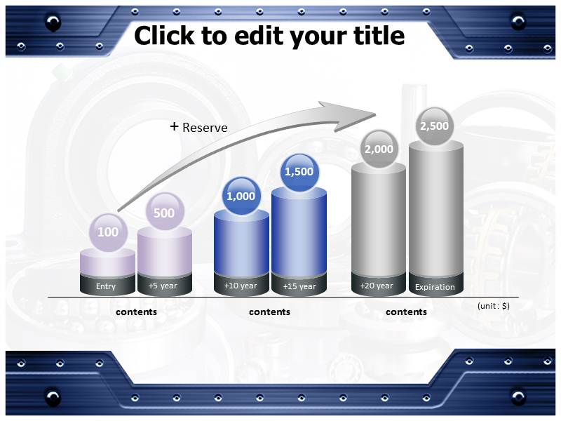 Bearings and Drives Powerpoint Templates