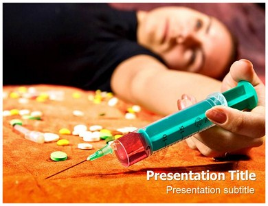 Drug Abuse Powerpoint(PPT) Template - Drug Abuse Powerpoint ...