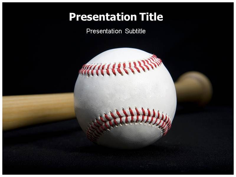 4 Baseball PowerPoint Templates Sample Example