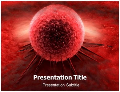 Cancer Cell Membrane Powerpoint Templates