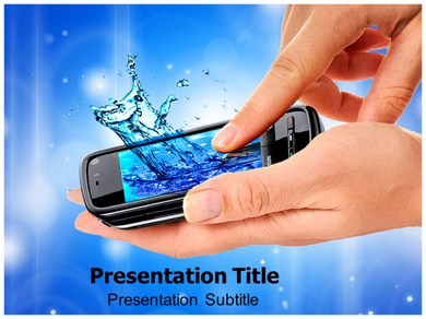 Touch Screen Technology Powerpoint Templates