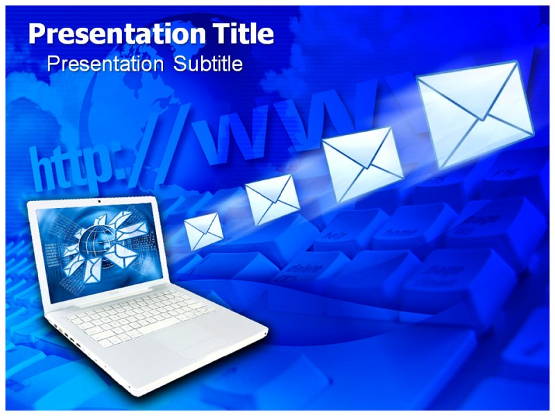 Email And Internet Powerpoint Templates