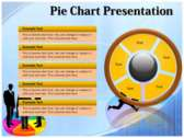 Pie Chart Presentation powerpoint backgrounds