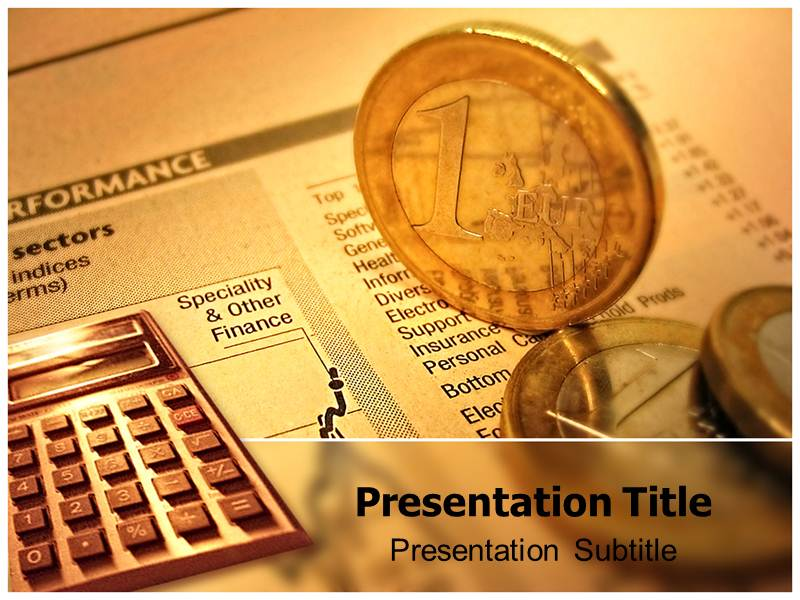 Financial Accounting Powerpoint Templates