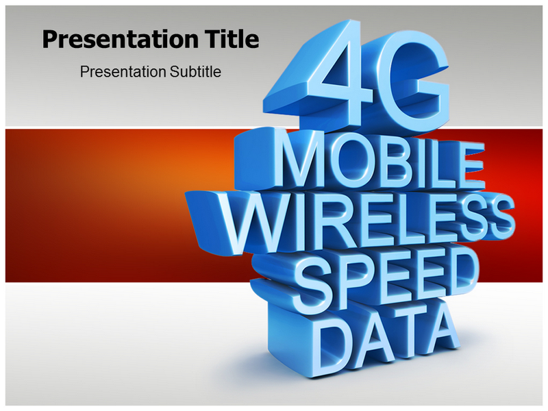 4g Technology Communication Powerpoint Templates