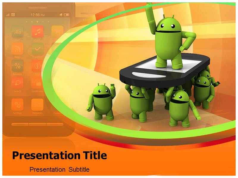 Android Apps Powerpoint Templates Powerpoint Presentation On