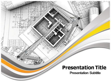 Interior PowerpointPPT Template Architecture Powerpoint