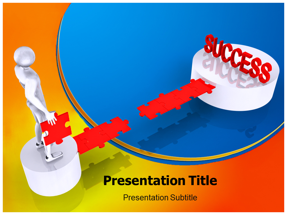 Achieve Success Powerpoint Templates