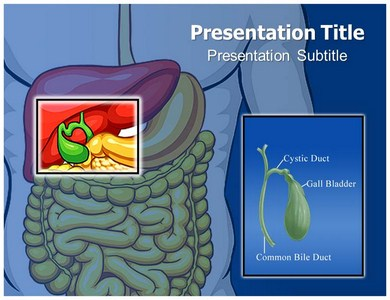 Bile Duct Cancer Powerpoint Templates