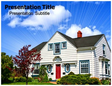 Home sweet home Style Powerpoint Templates