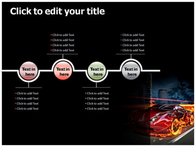 gaming car powerpoint templates | powerpoint presentation on, Presentation templates