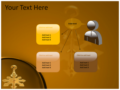 Various Directions Powerpoint Templates
