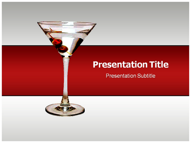 Cocktail Powerpoint Templates