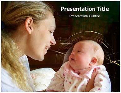Mother Care 1 Powerpoint Templates