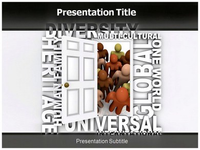 Multi cultural Powerpoint Templates